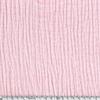 Triple gaze de coton coloris blush 20 x 130 cm