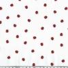 Popeline petites coccinelles 20 x 140 cm