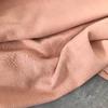 Tissu lin et viscose coloris nude 20 x 130 cm