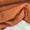 Tissu lin et viscose coloris noisette 20 x 130 cm