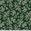 Crêpe lisse Oakville fond vert anglais foncé 20 x 140 cm