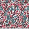 Liberty Poppy and Daisy fruits rouge et ardoise coloris P 20 x 137 cm