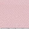 Jersey matelassé 100% coton coloris rose pâle 20 x 145 cm