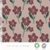 Jersey Amaryllis coloris Rose 20 x 160 cm