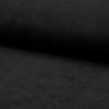 Velours milleraies stretch coloris noir 20 x 140 cm