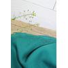 Crêpe de viscose uni vert émeraude 20 x 145 cm