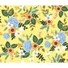 Tissu Rifle Paper Primavera fleurs fond jaune 20 x 110 cm