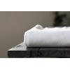 Jersey bio interlock diagonale coloris White Sand 20 x 150 cm