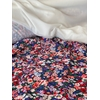 Liberty Lycra Thorpe violet 20 cm x 150 cm