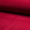 Velours grosses côtes stretch rouge 20 x 140 cm
