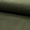 Velours grosses côtes stretch kaki 20 x 140 cm