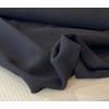Lainage épais relief coloris noir 20 x 145 cm