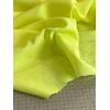 Tissu fil-à-fil jaune fluo / blanc 20 x 150 cm