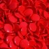 30 pressions KAM résine rondes taille 20 rouge