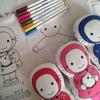 csf kit émilie à colorier