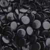 30 pressions KAM résine rondes taille 20 coloris noir