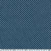 Jean denim petits ronds fond bleu 20 x 150 cm