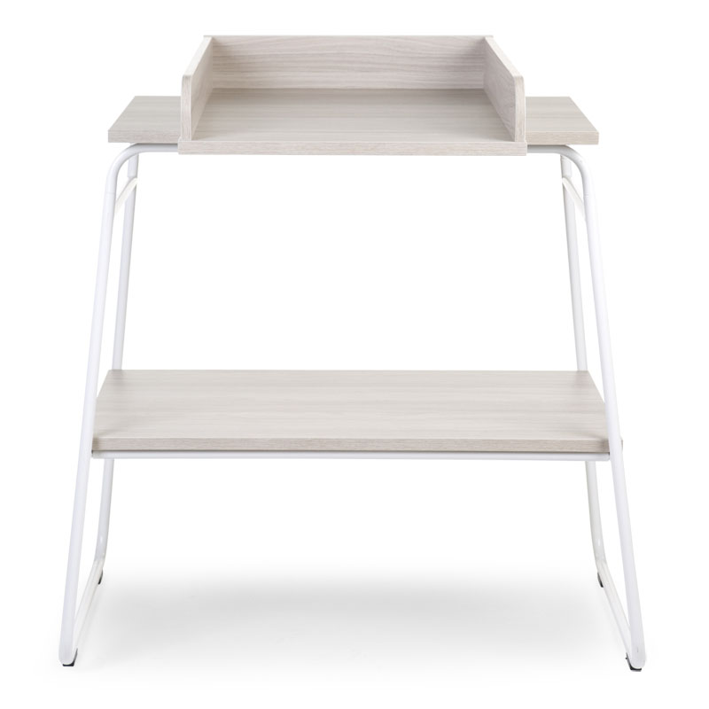 TABLE A LANGER IRONWOOD ASHEN / BLANC LARGE