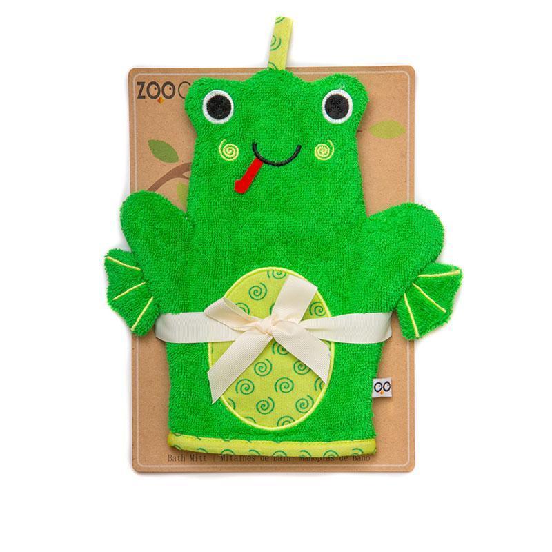 Gant de toilette marionnette Flippy la grenouille