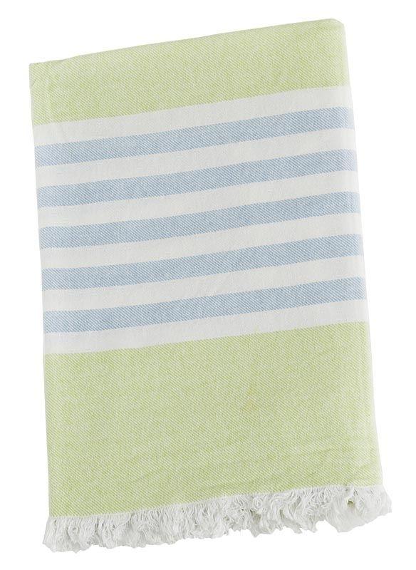 Serviette Vert / bleue