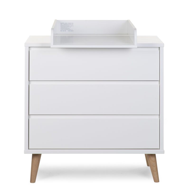 RETRO RIO WHITE COMMODE 3 TIROIRS+ PLAN A LANGER