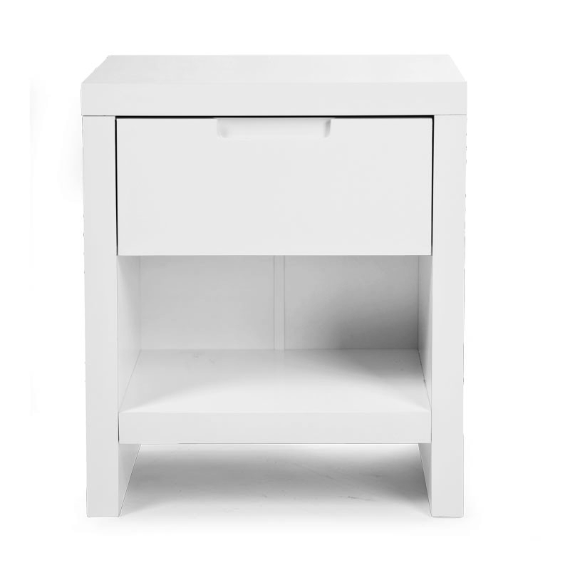 QUADRO WHITE TABLE DE CHEVET