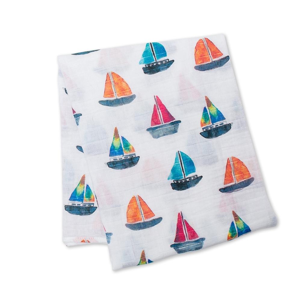 Lange mousseline - bateaux