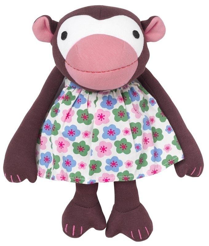 Frida singe nouvelle robe à fleurs