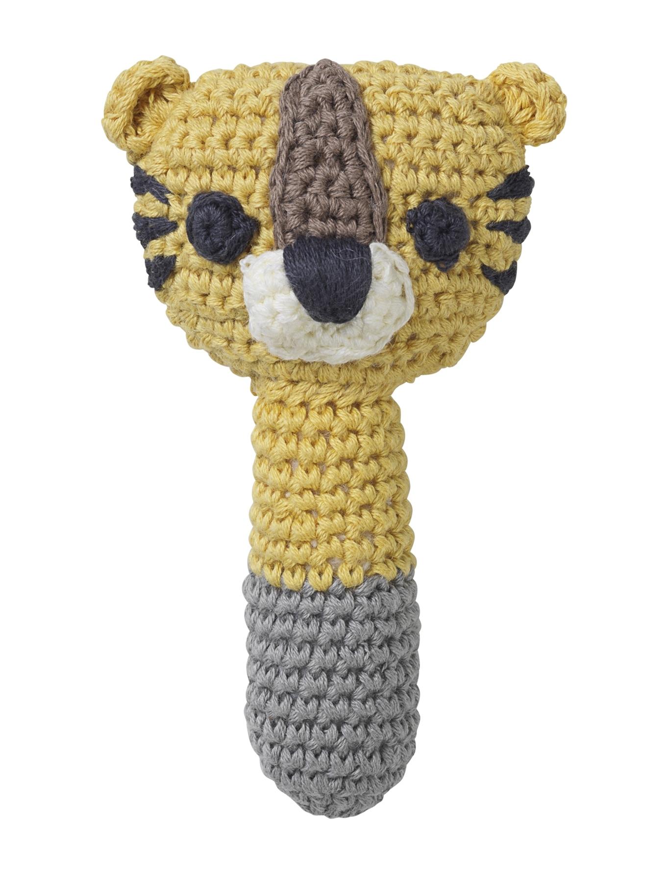 Hochet Sarah tigre jaune