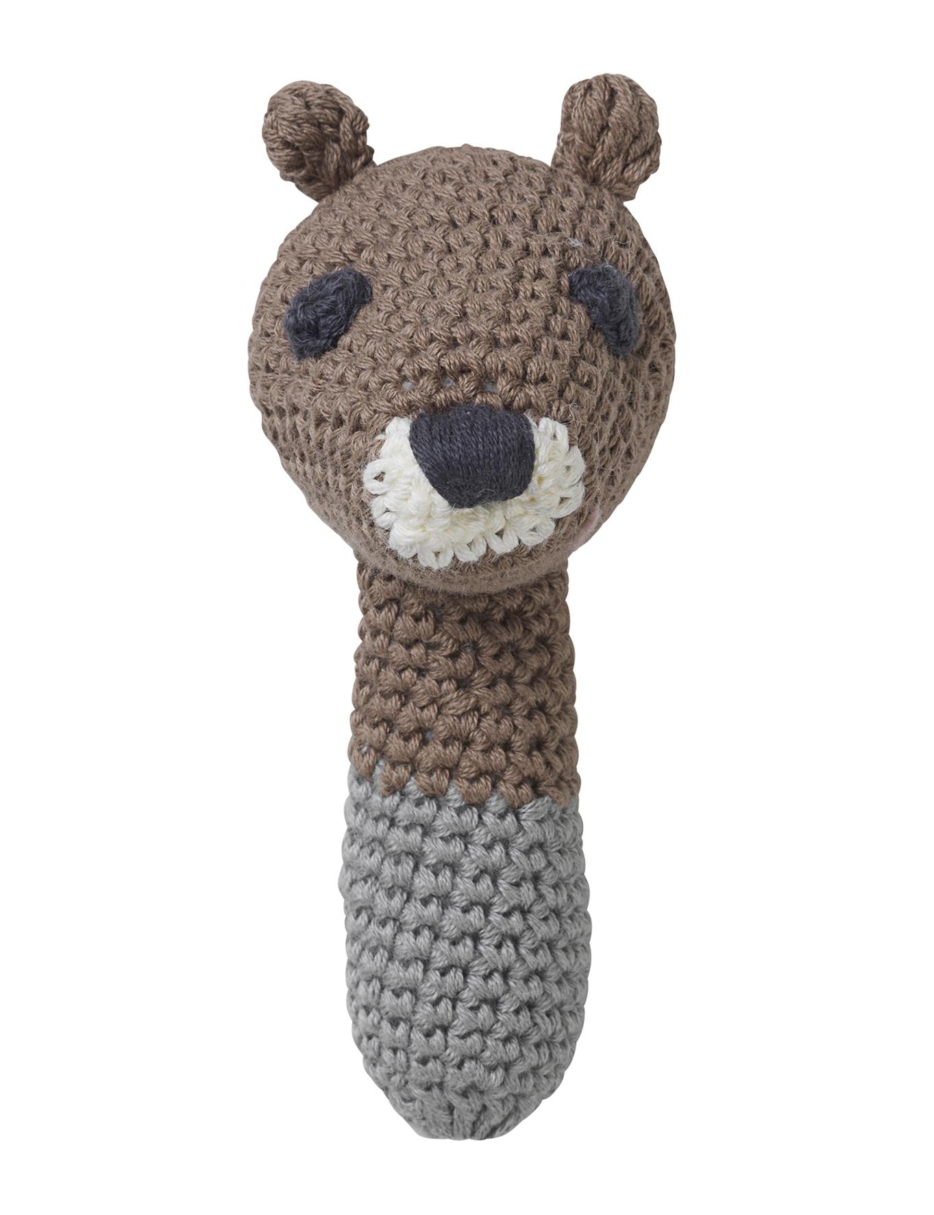 Hochet Sarah écureuil marron