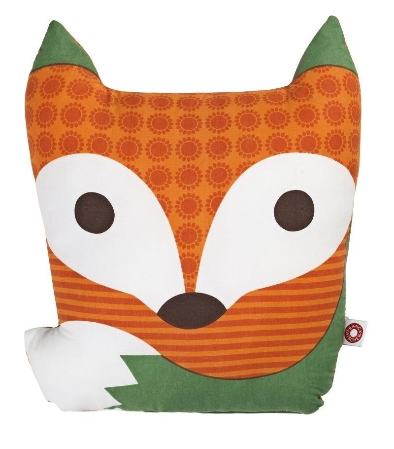 Rufus coussin renard orange