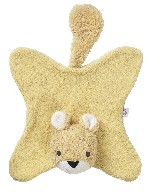 Doudou Anika écureuil jaune