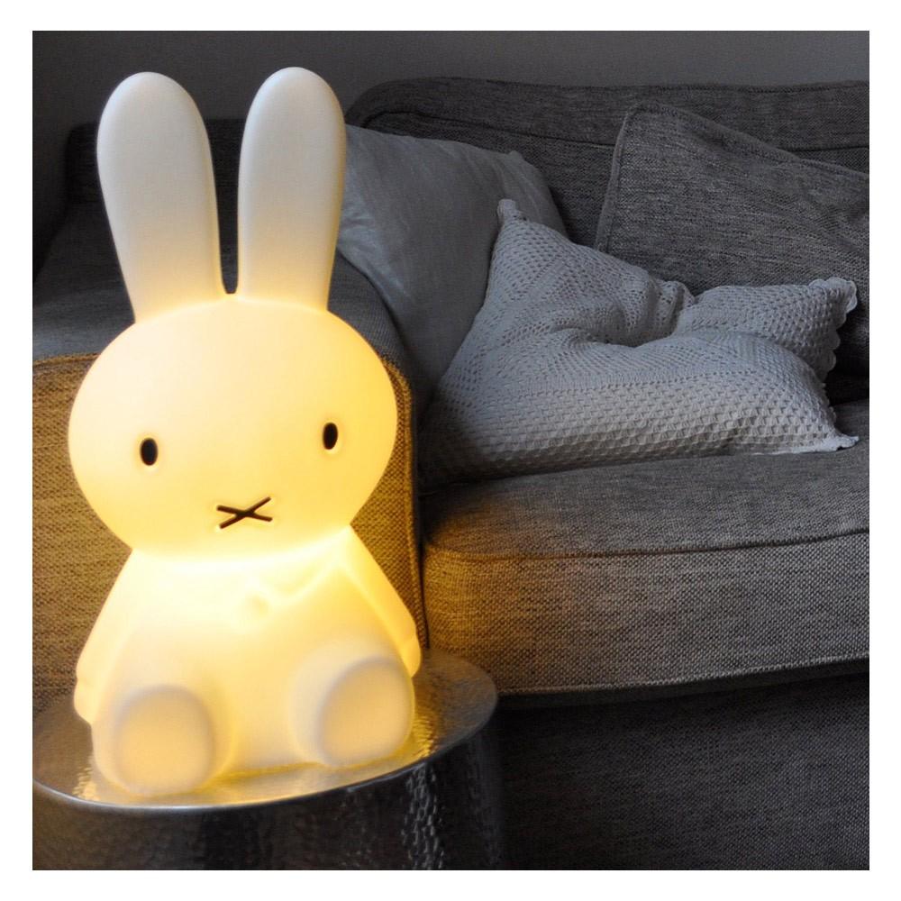 Lampe Veilleuse Lapin Miffy lampe miffy l 50 cm