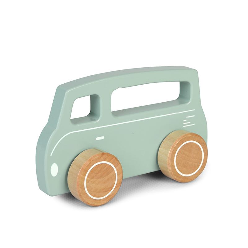 4378 wooden van - 1