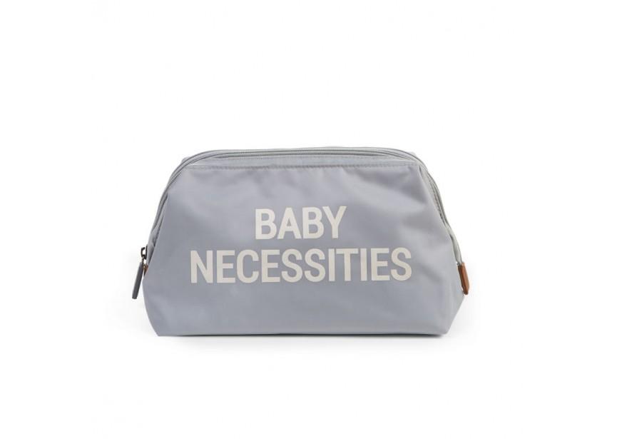 Pochette BABY NECESSITIES gris