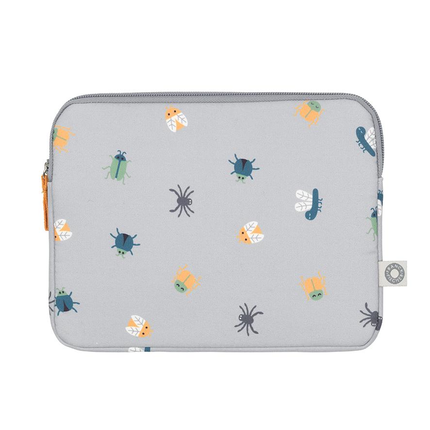 Pochette iPad grise