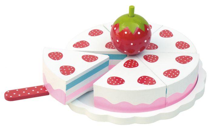 Gâteau fraises bois