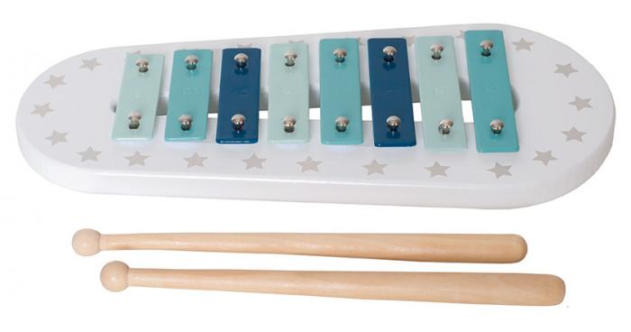 Xylophone bleu