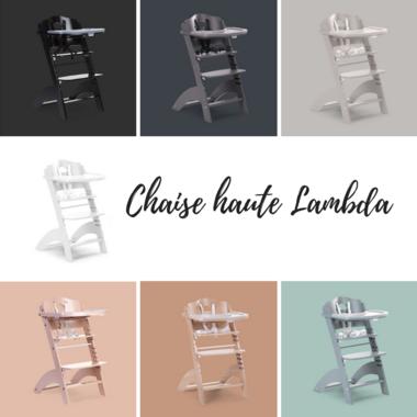 Chaise haute Lambda-3