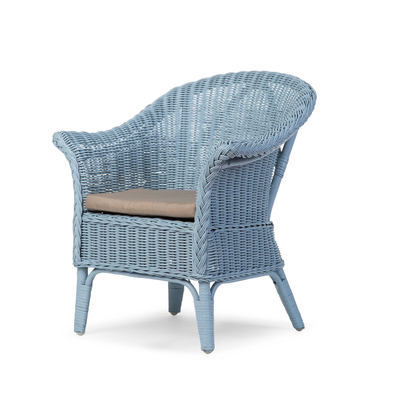 MIMO KID WICKER CHAISE CLOUD BLUE + COUSSIN