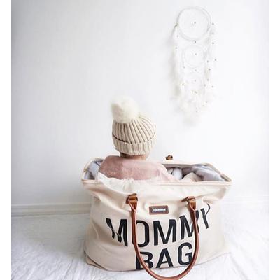 MOMMY BAG LARGE BLANC CASSE