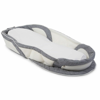 SOFT BED EASY GO GRIS BLANC