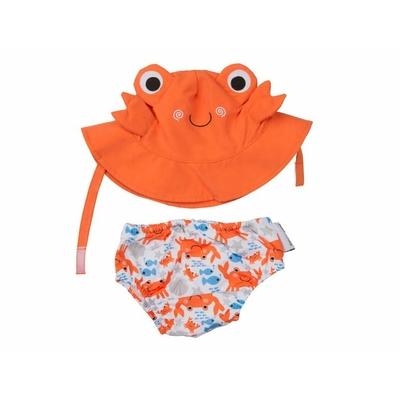 Maillot & chapeau Crabe