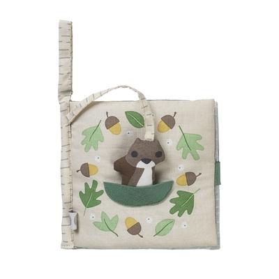 Livre en tissu écureuil