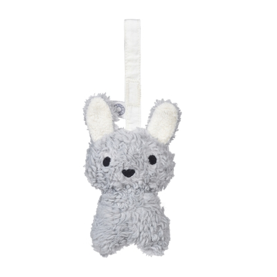 Hochet Louise lapin gris