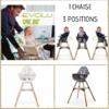 Chaise haute Lambda-5