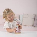 4400 wooden rocking ring stacker - adventure pink 1