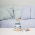 4401 wooden rocking ring stacker - adventure blue 6