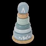4401 - wooden rocking ring stacker - adventure blue 2