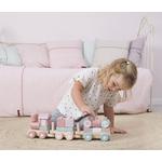 4416 wooden train - adventure pink 2